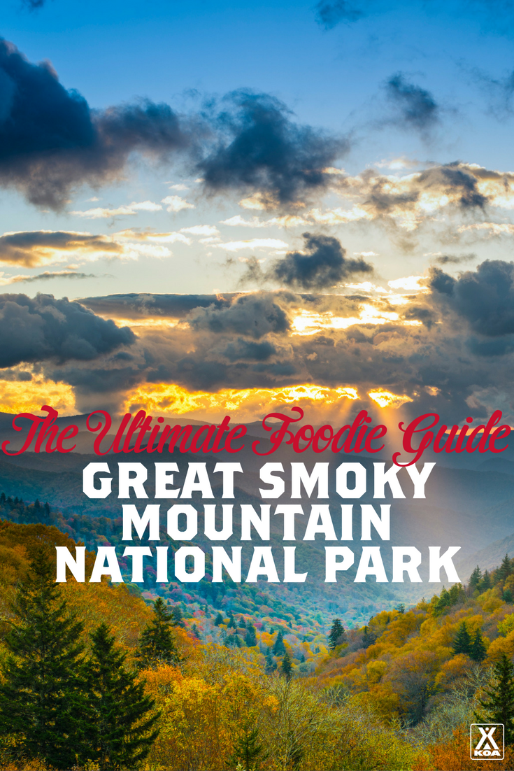 The ultimate food guide to the smokies koa camping blog for Dining near gatlinburg tn
