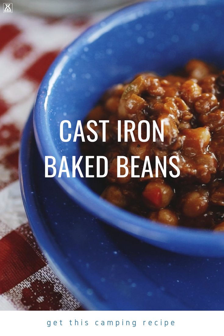 Cast Iron Baked Beans Recipe