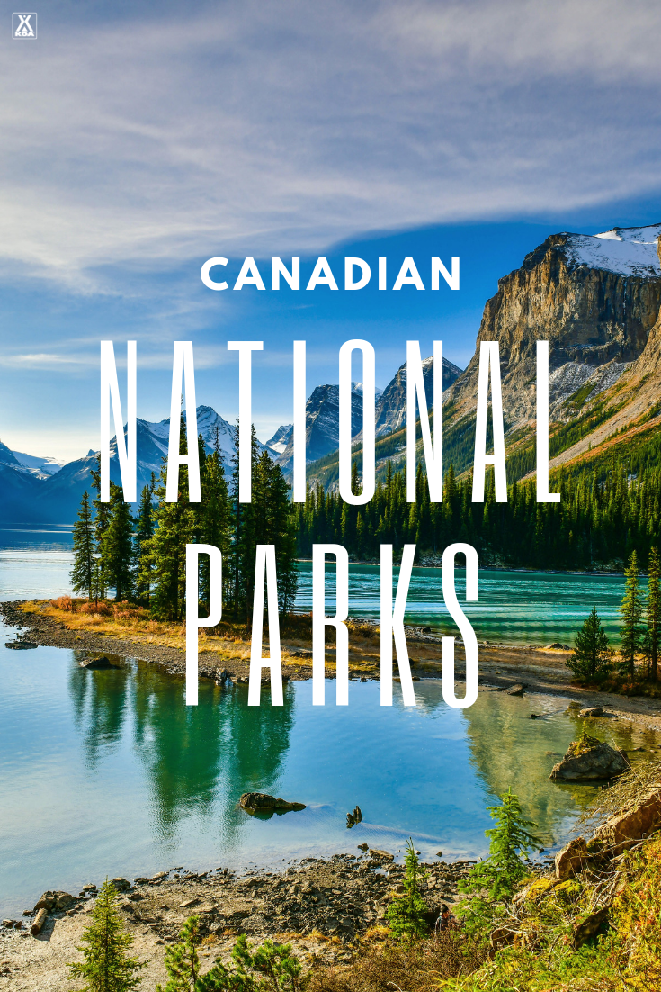Visit some of the best national parks Canada has to offer. #canada #nationalpark