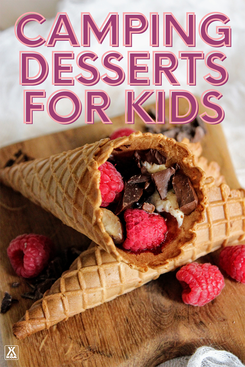 While we love a good s'more, sometimes you need to mix up your camping dessert options. Here are five fun camping desserts perfect for kids.