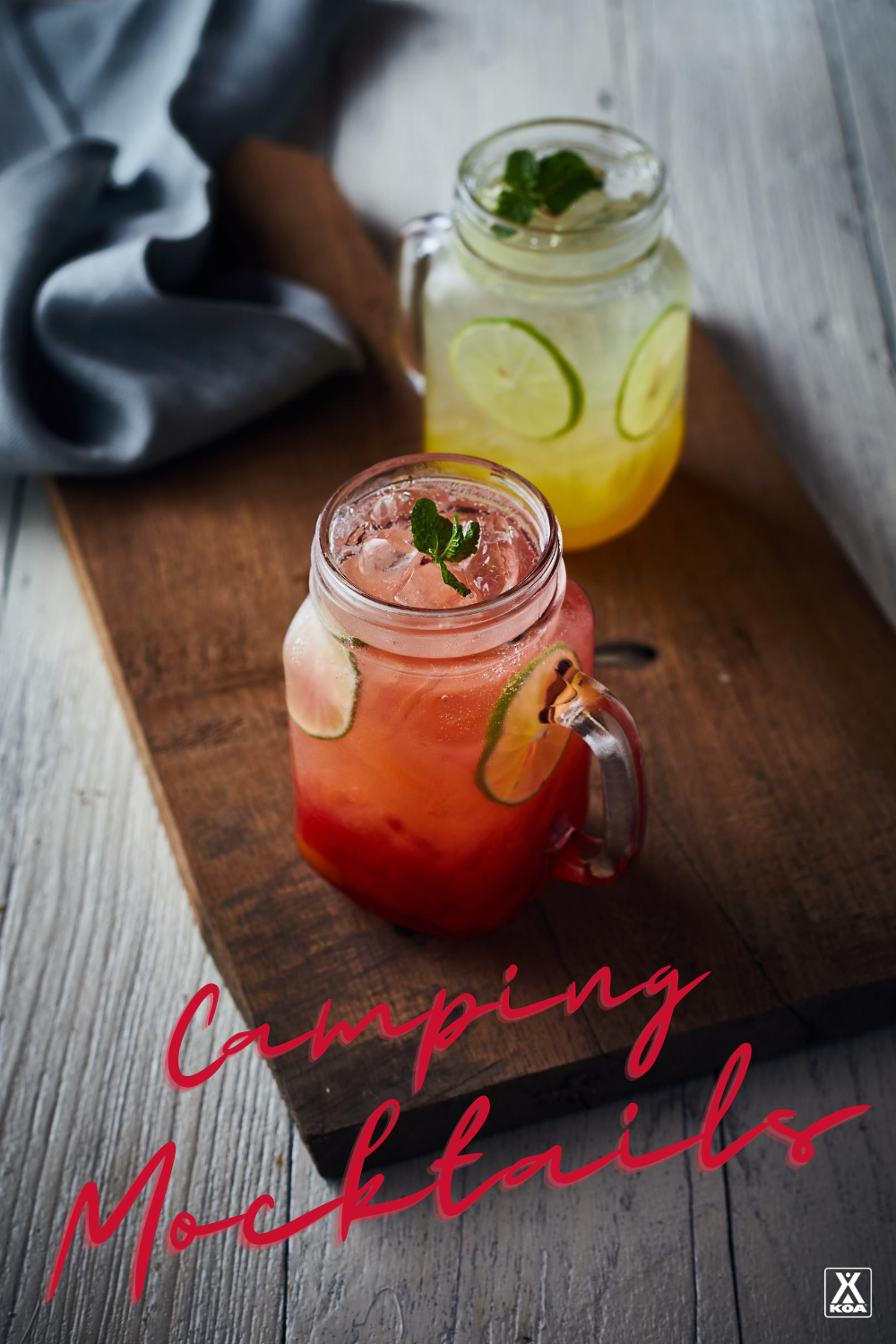 From mulled cider to coconut water mojito mocktails, there's plenty of cheers-ing to be done! Check out these delicious alcohol free recipes to try on your next camping trip.