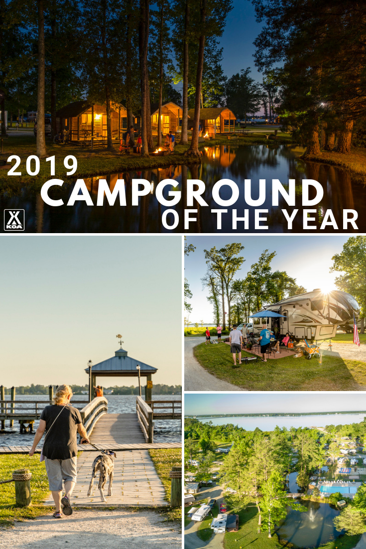 Learn About the KOA Campground of the Year