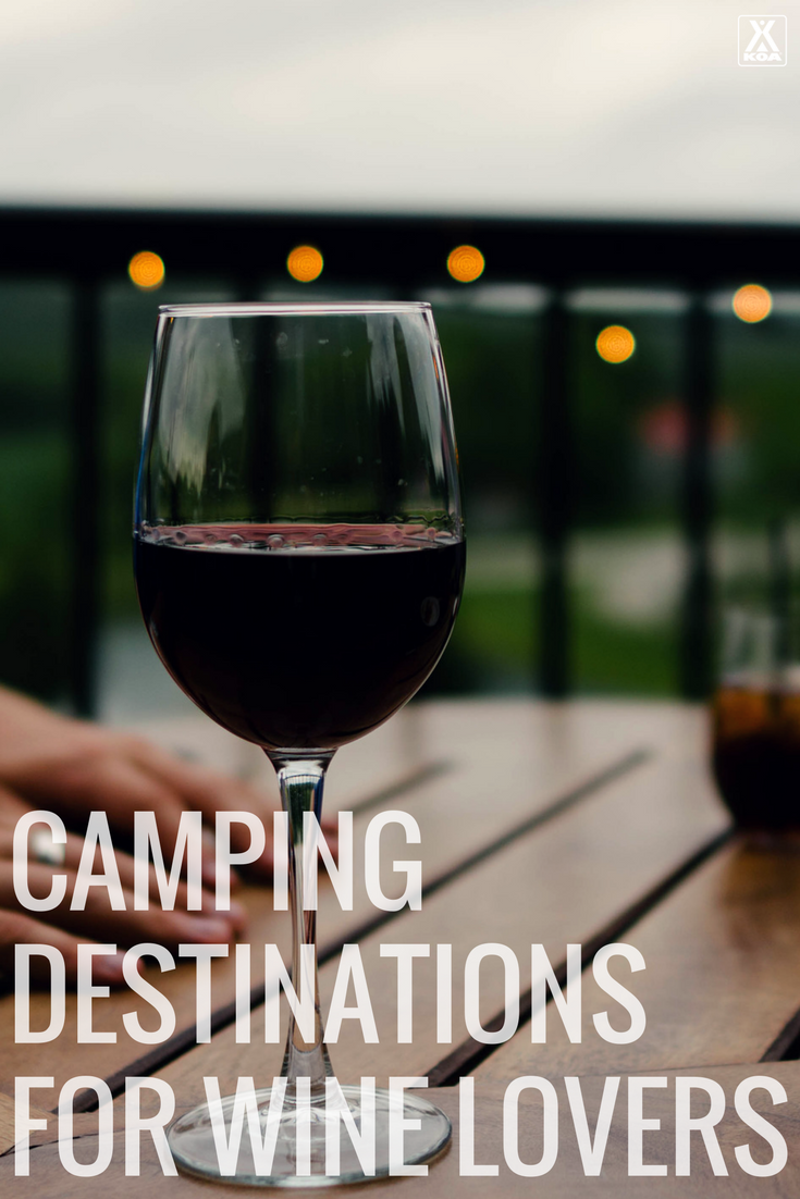 Wine and camping? You bet!