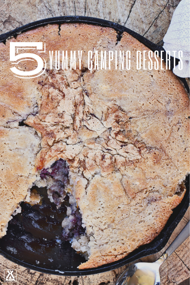 No s'mores here! Try these camping desserts.