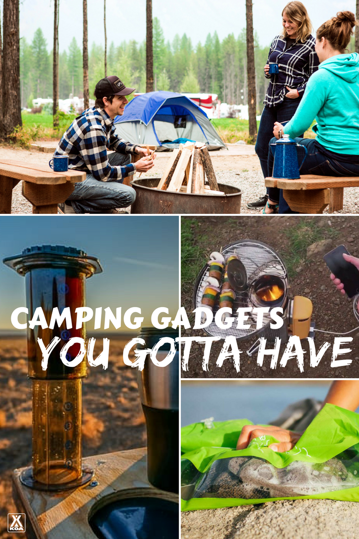 Check out these cool camping gadgets