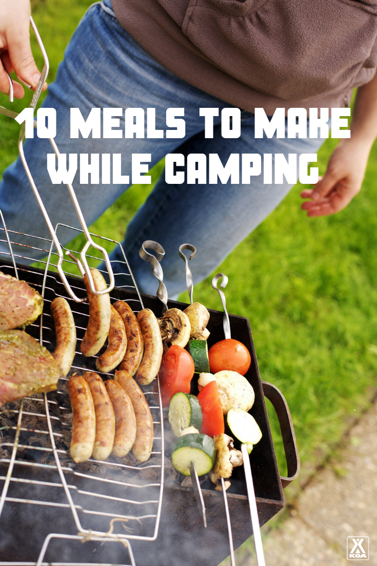 These easy and delicious recipes are a must for your next camping trip. Try our camping meals! #camping #campfirecooking #campfirerecipe #campingrecipe