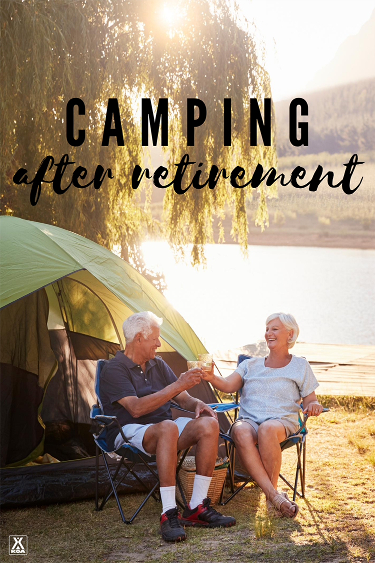 Ramp up your cooking game, glamp up your tent, and explore new places. Here are seven ways to change up your camping game after retirement.