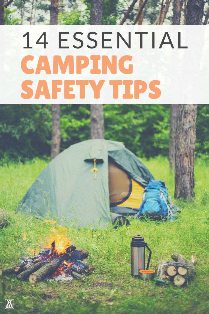 A guide to camping safety