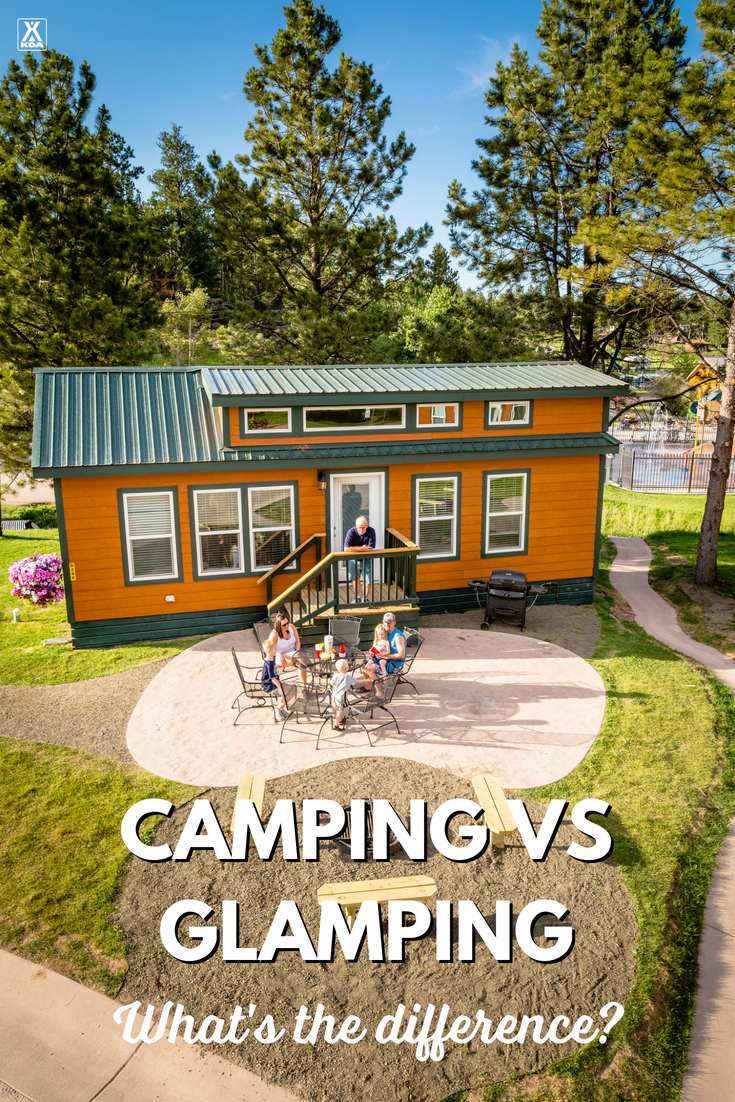 Camping? Glamping? What's the difference?