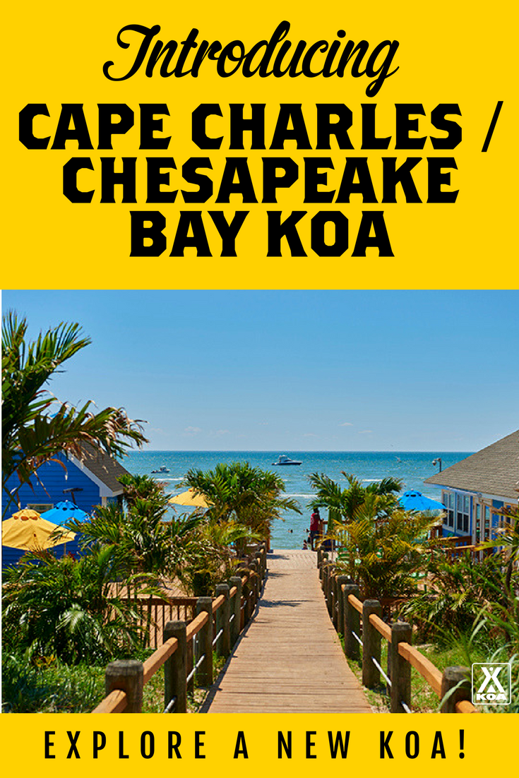 Visit this NEW beachfront KOA!