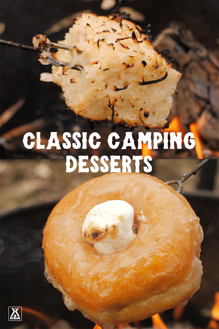 Add some vintage flair to your next camping trip with these classic camping desserts. Learn to make angel halos and coconut or cinnamon sugar squares - perfect sweet treats for your next camping trip.