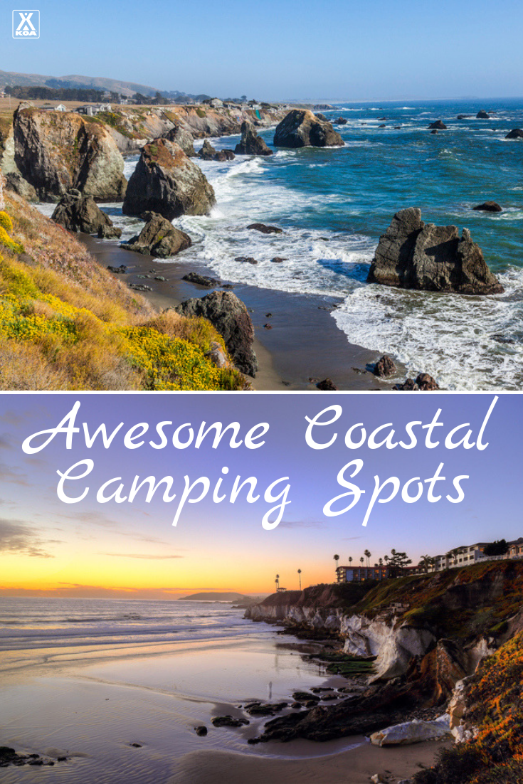 Check out these awesome campgrounds for camping near the beach. #camping #campground
