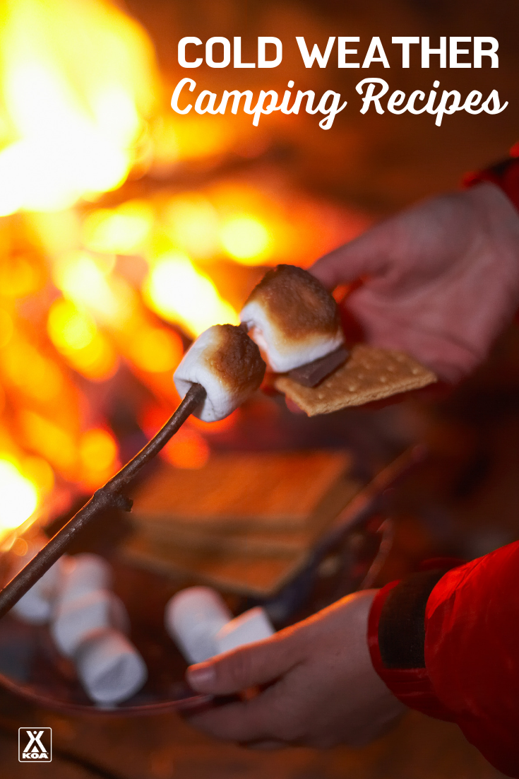 The Best Winter Camping Recipes Warm Camping Meals For Cold Weather Koa Camping Blog