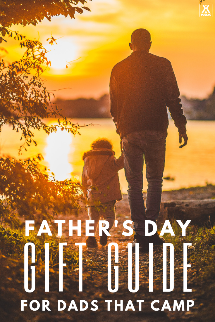 Find great gifts for outdoor dads who like to camp or RV. #giftguide #fathersday