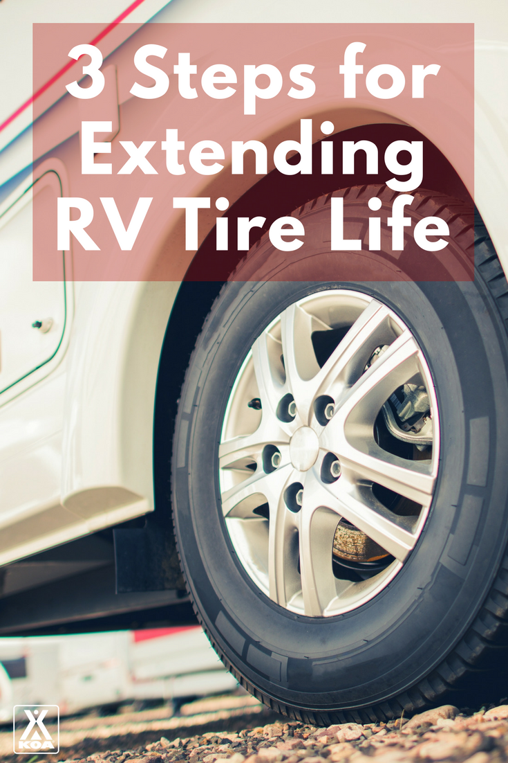Extend your RV tire life during storage with these steps