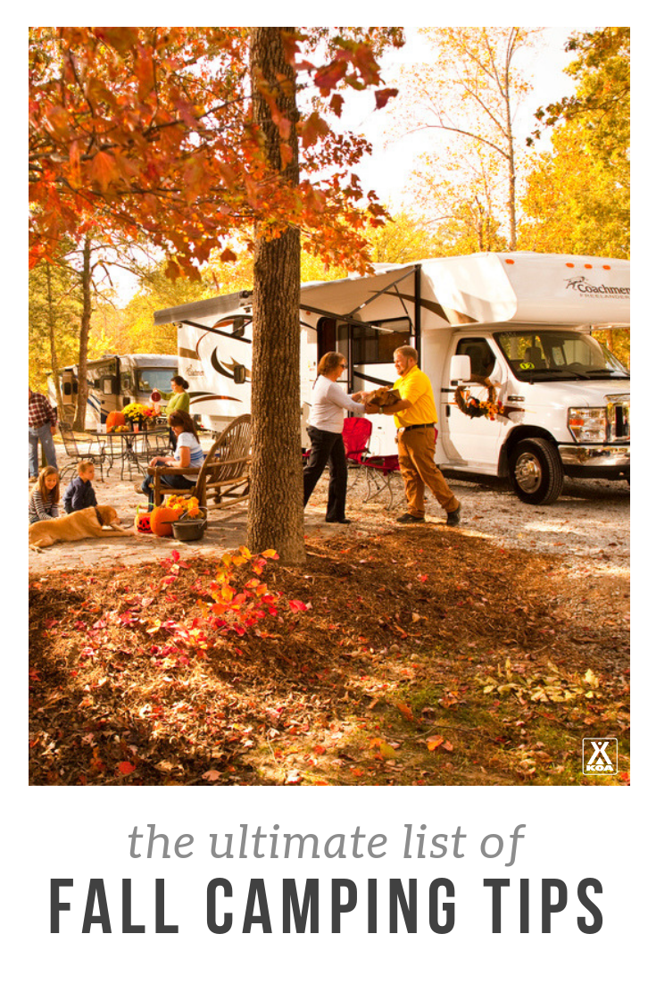 Ultimate List of Fall Camping Tips