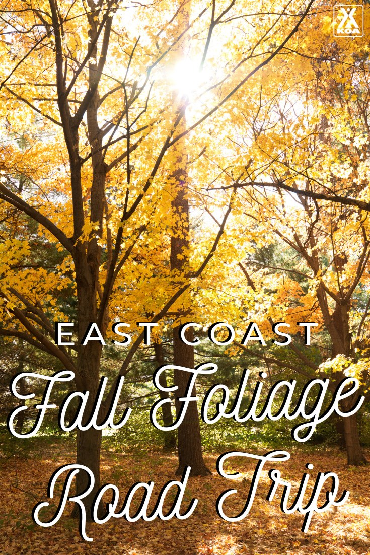 Ready for adventure? Here's a fall road trip you'll never forget, taking advantage of the best that East Coast has to offer.