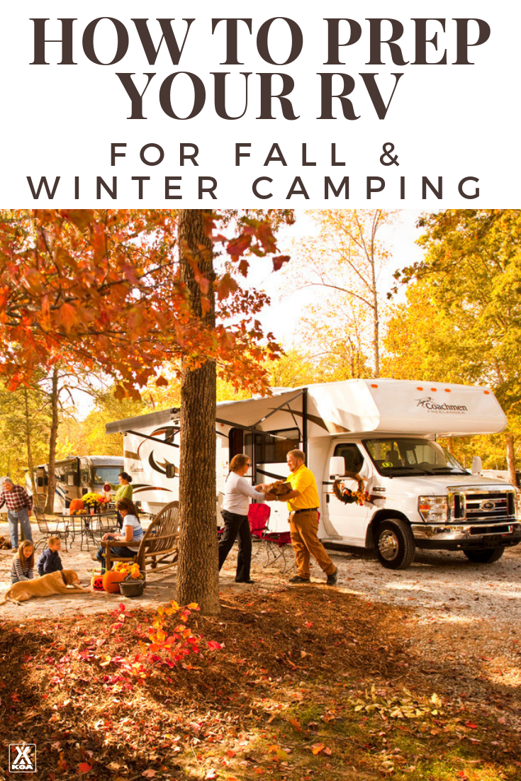Prep your RV for Fall & Winter Camping