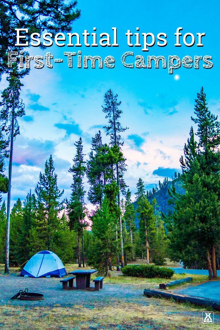 The idea of camping can intimidate some people. But the truth is, camping is not only one of the easiest outdoor activities to do, but it's also one of the most widely-loved. Here are some tips to help first-timers get the most out of the experience.