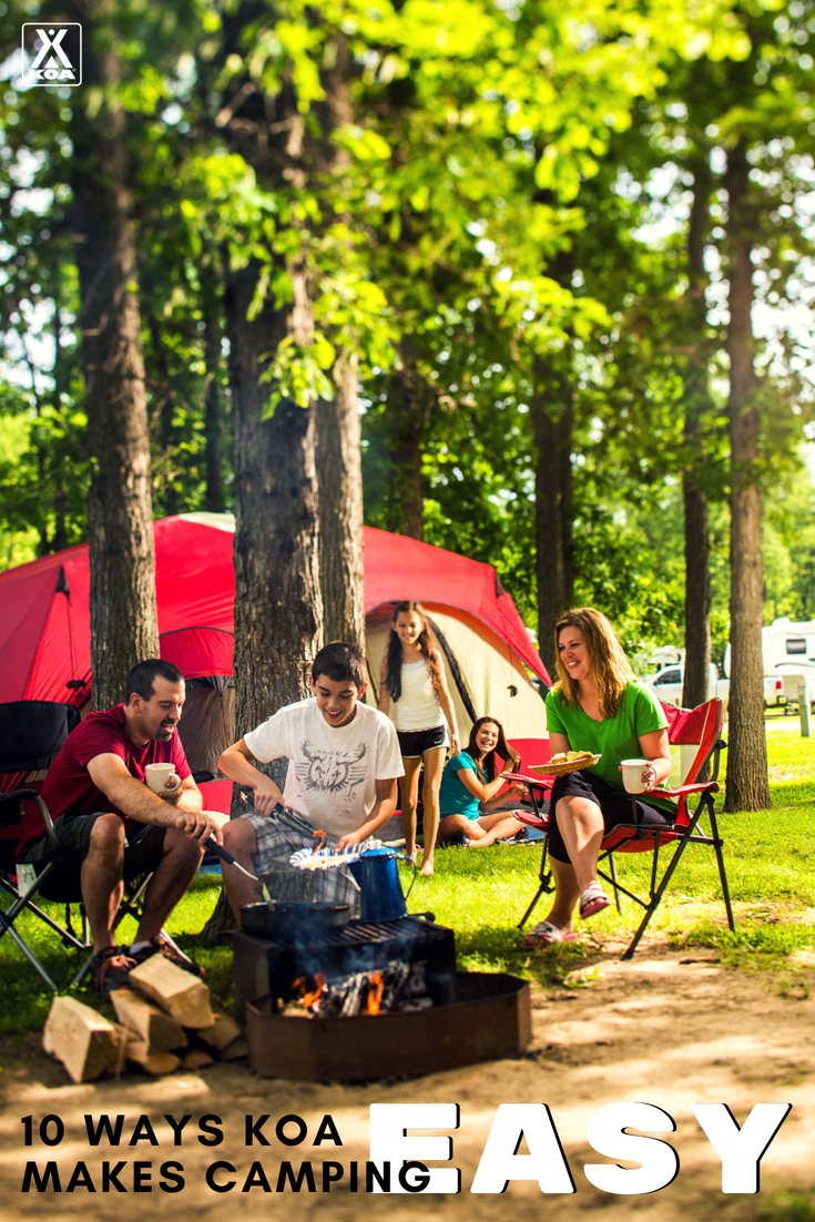 Tips for making camping easy.