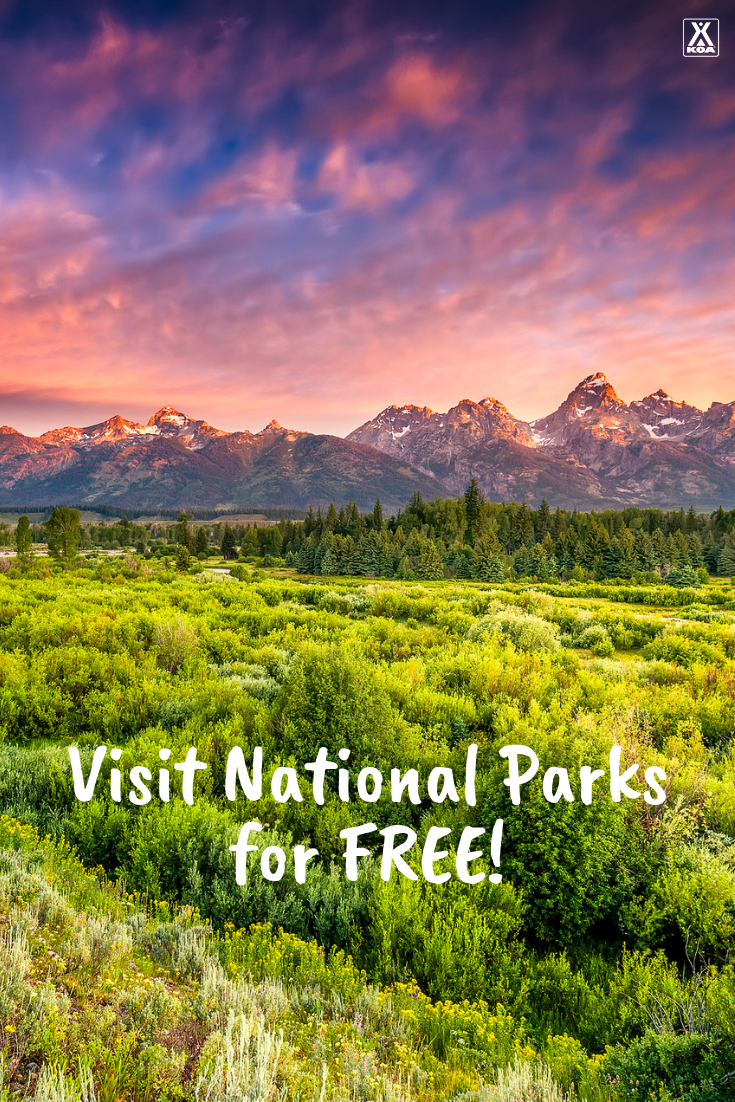 Visit national parks and monuments for free! #nationalpark