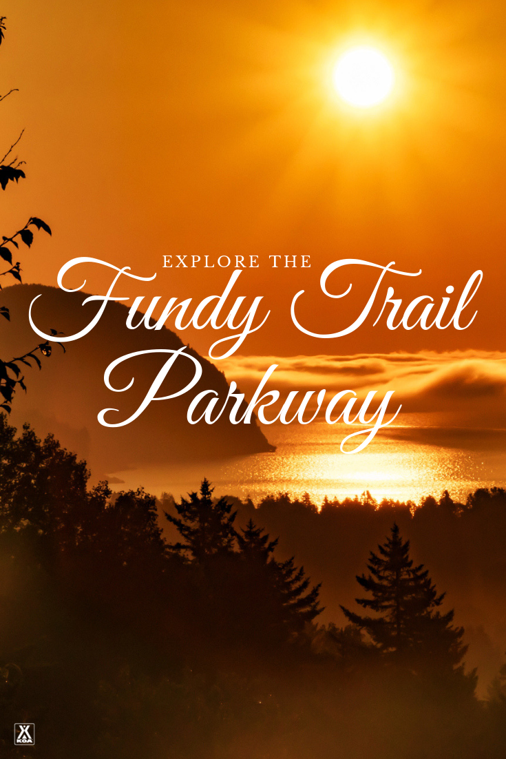 Explore Canada's Fundy Trail Parkway.
