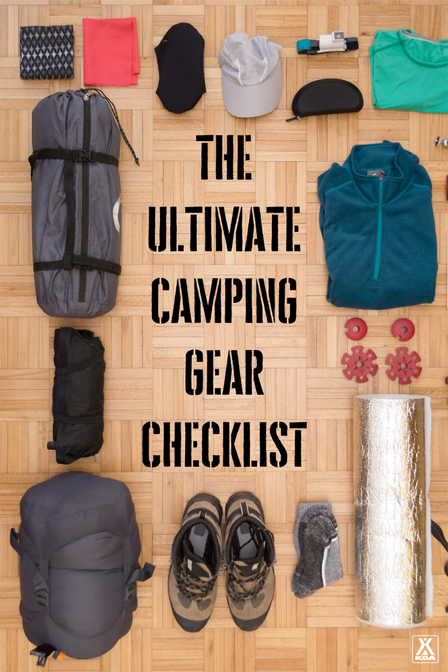 Make sure you have all the necessary things for your next camping trip! From sleeping gear to cookware to personal items, our printable camping packing checklist has you covered!