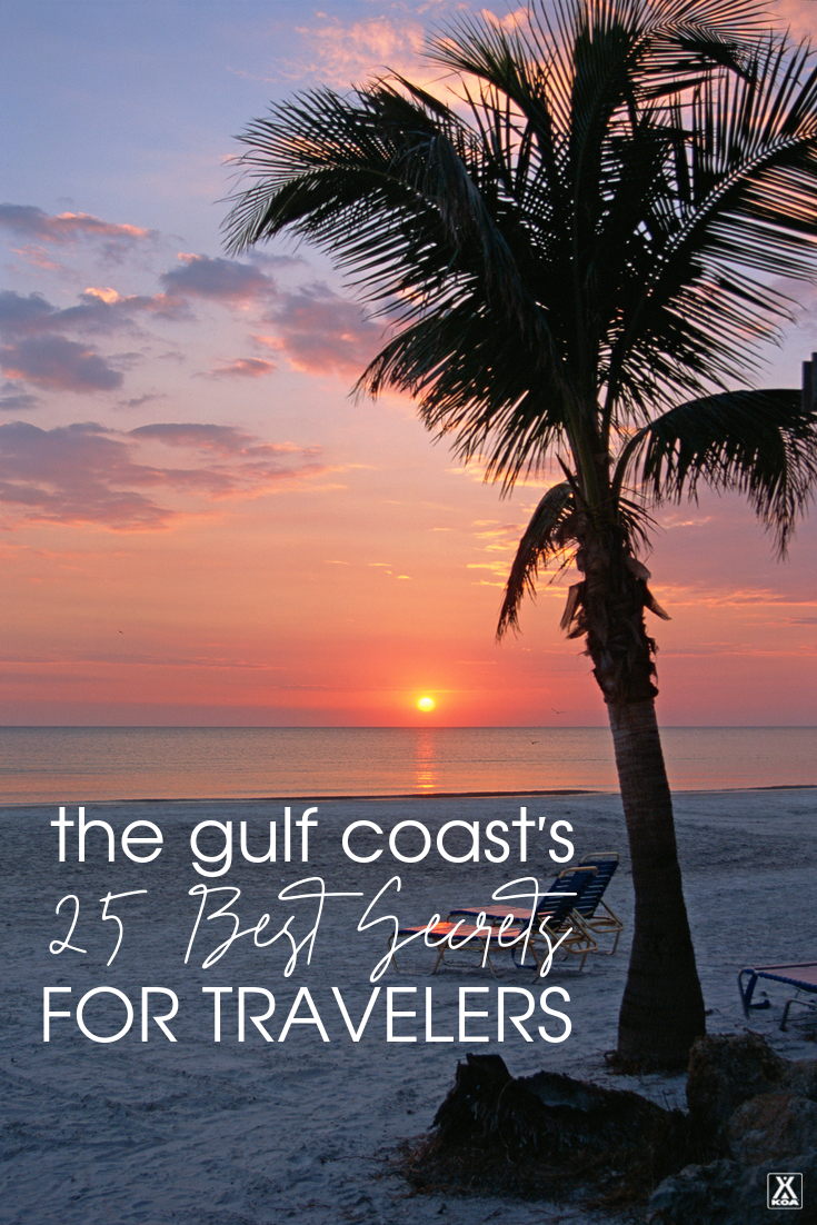 While it's no secret that the Gulf Coast is a popular vacation destination there are still plenty of spots off the beaten path. From Texas to Florida, here are 25 of our favorite less-known sites and attractions to visit on a Gulf Coast trip.