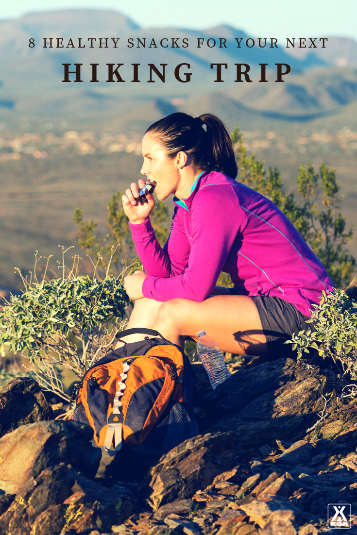 Healthy snacks for hiking