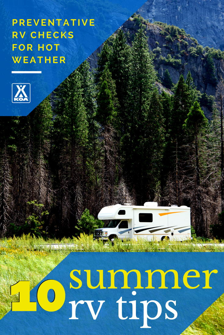 These tips will have your RV hot weather ready