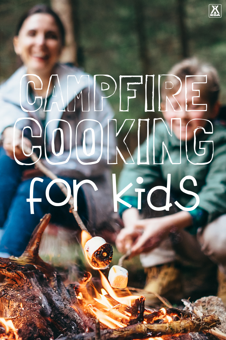 As your kids grow up, you want to teach them how to be competent in the outdoors—and one of the best ways to share that knowledge is by cooking together over the campfire.