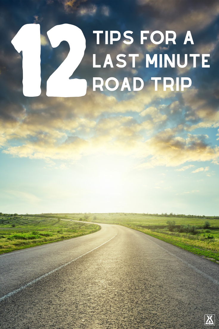 Planning a last minute road trip can be a fun way to get out and explore - but it can also be daunting. Use these planning tips to make sure your last minute road trip goes off without a hitch.