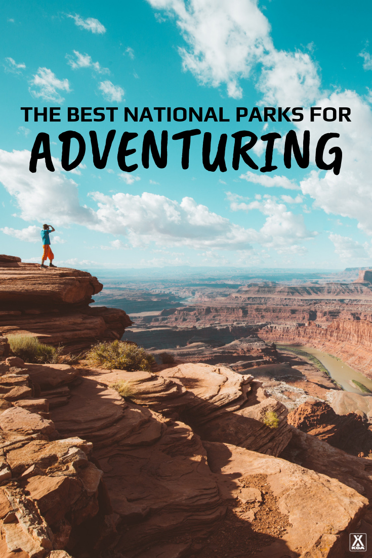 These 12 national parks are perfect for people looking for a little more adventure. #NationalParks #FindYourPark #Explore #Outdoors