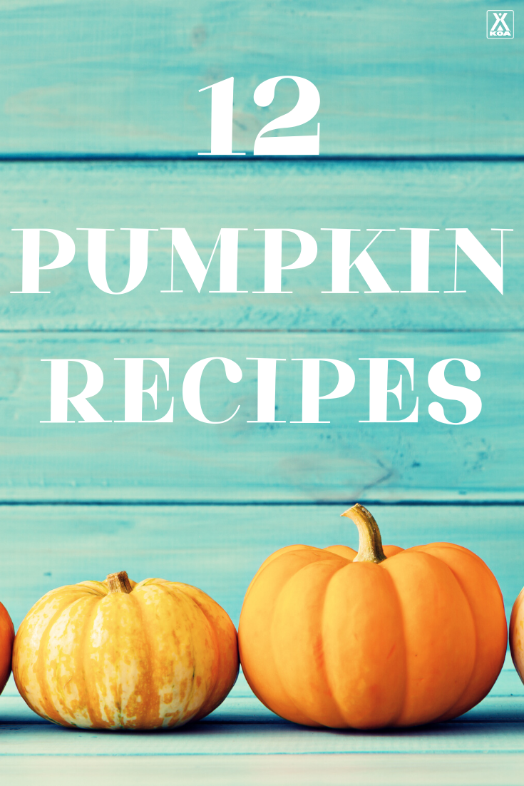 'Tis the season for all things pumpkin! Here are 12 of our favorite recipes to make when you're camping, or at home, that feature one of fall's favorite flavors - pumpkin.