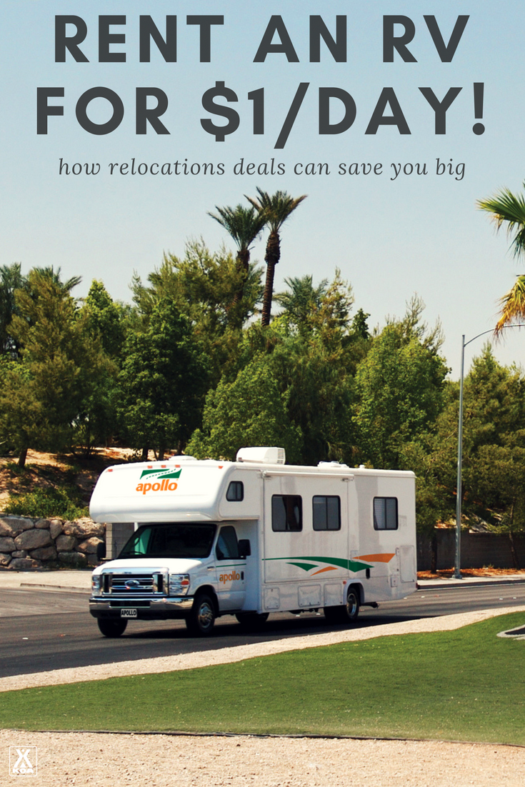 How to rent an RV for $1