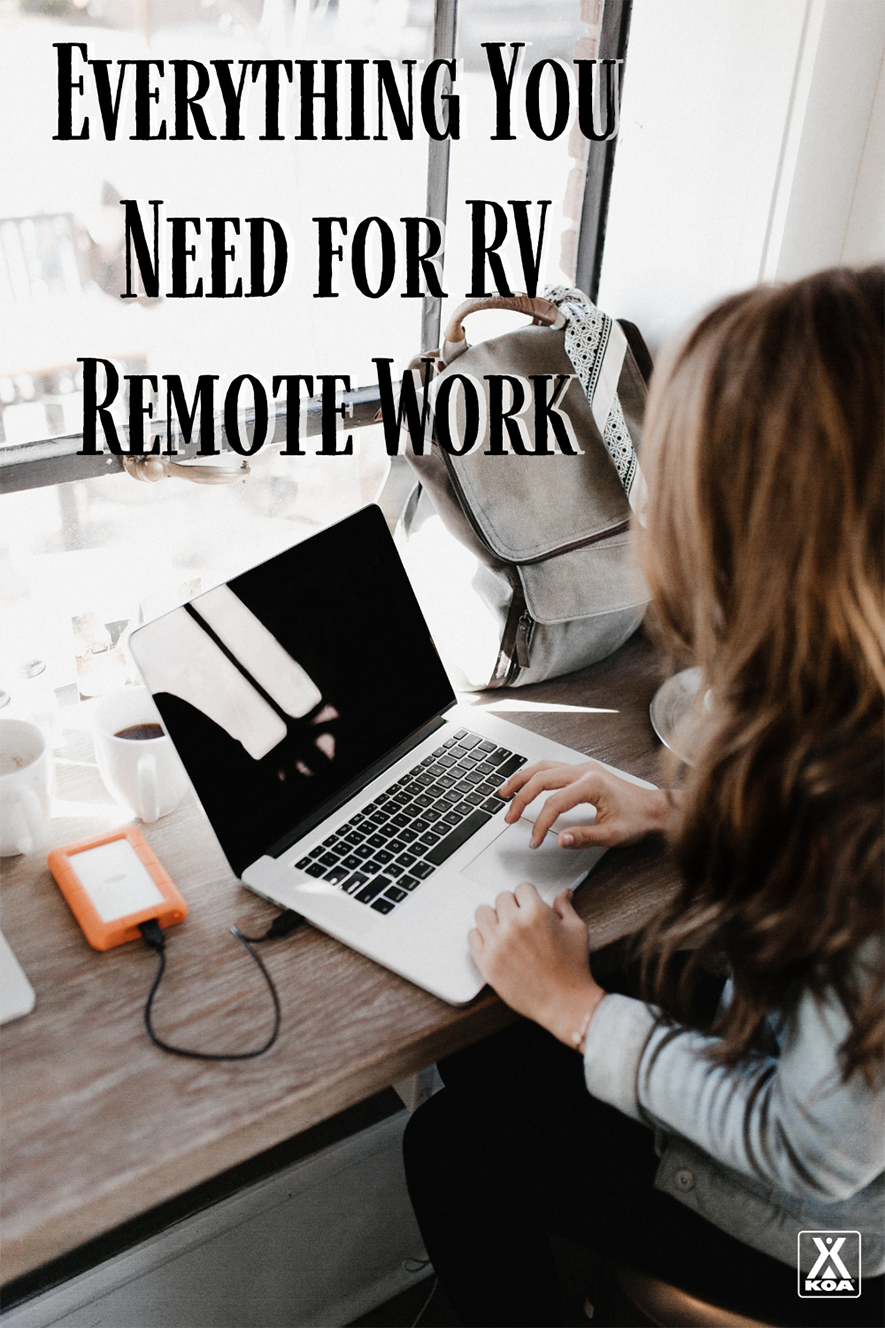 From laptops to power sources, here's everything you need to hit the road and work remotely from your RV