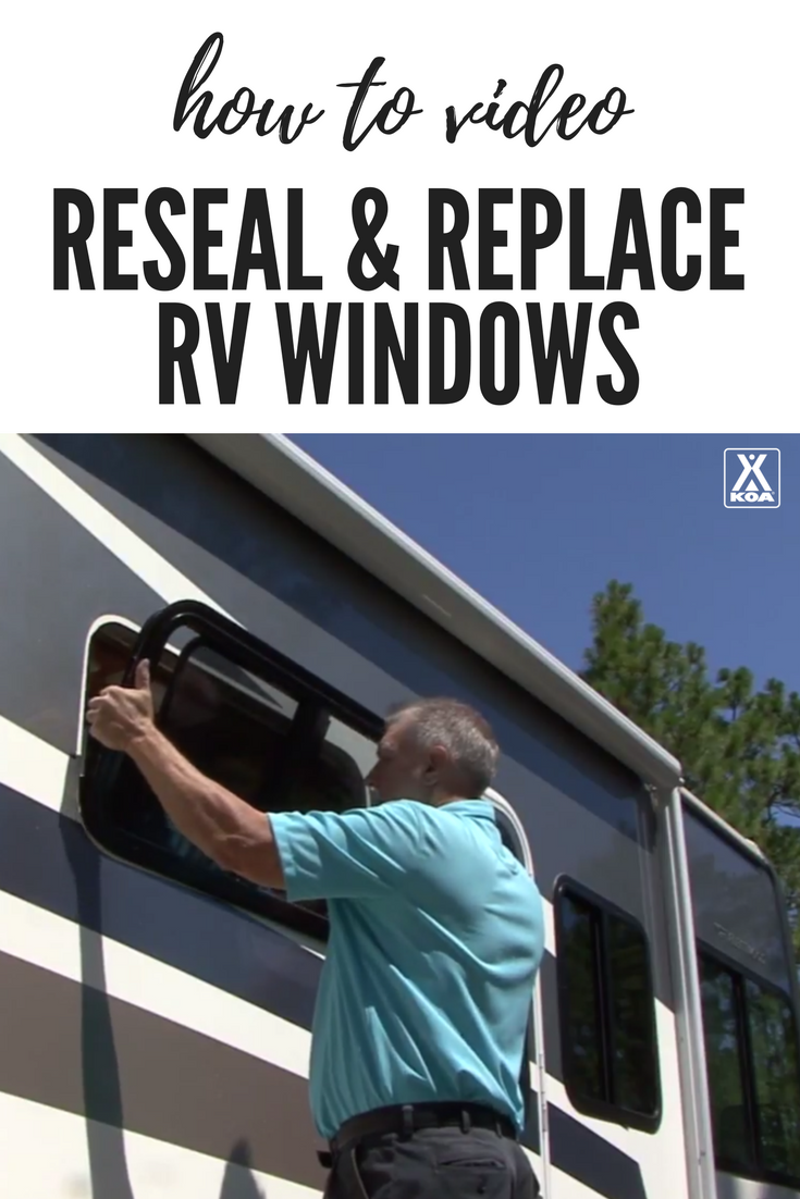 Watch this to learn how to reseal your RV windows