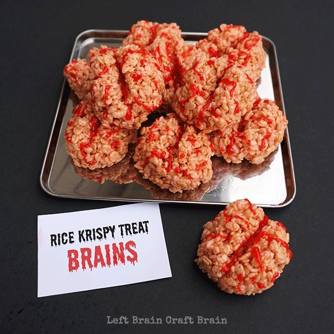 Rice Krispie Treat Brains