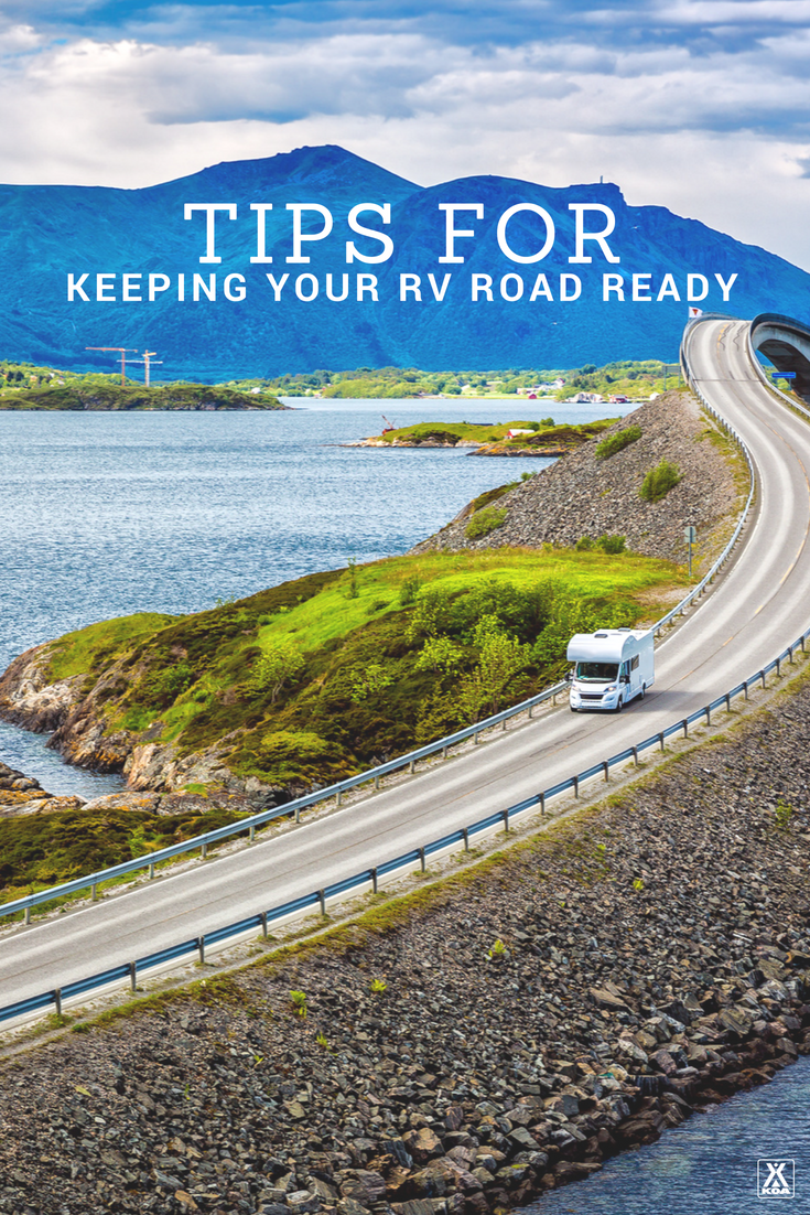 Keep your RV ready to roll with these tips