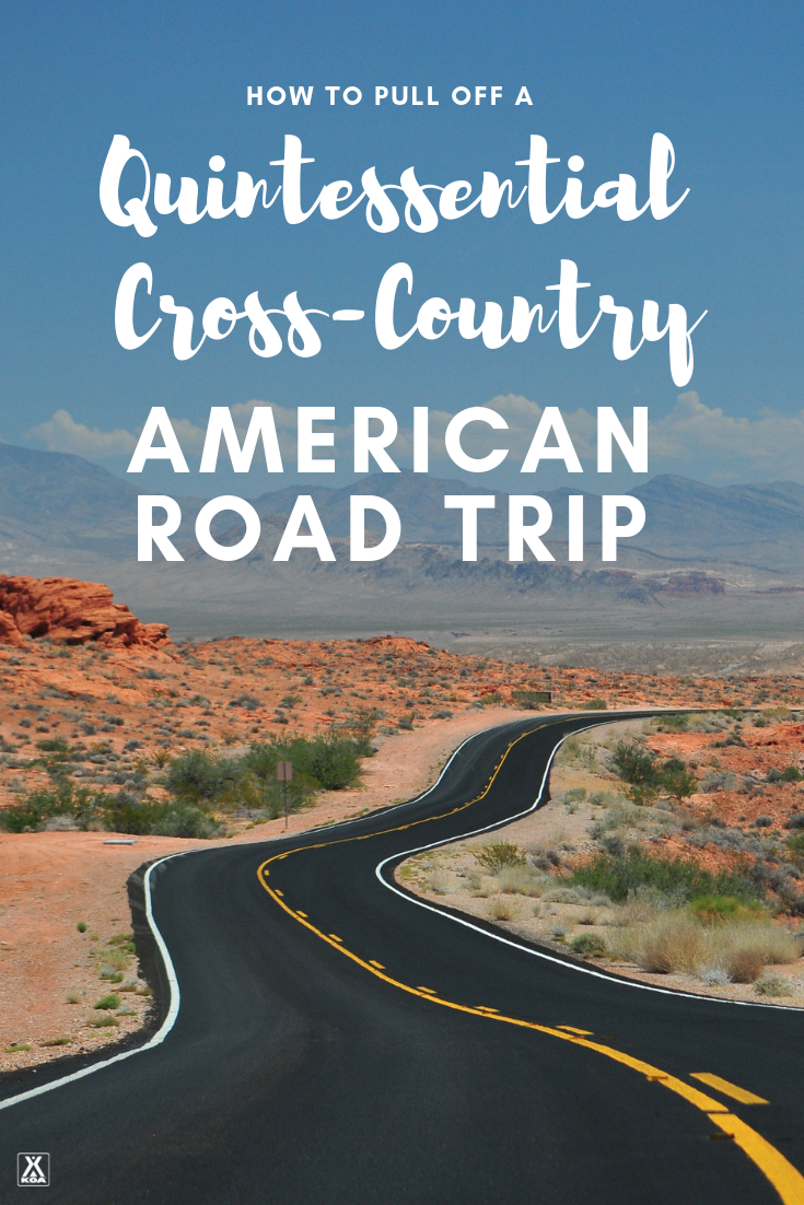 Take this cross-country American road trip!