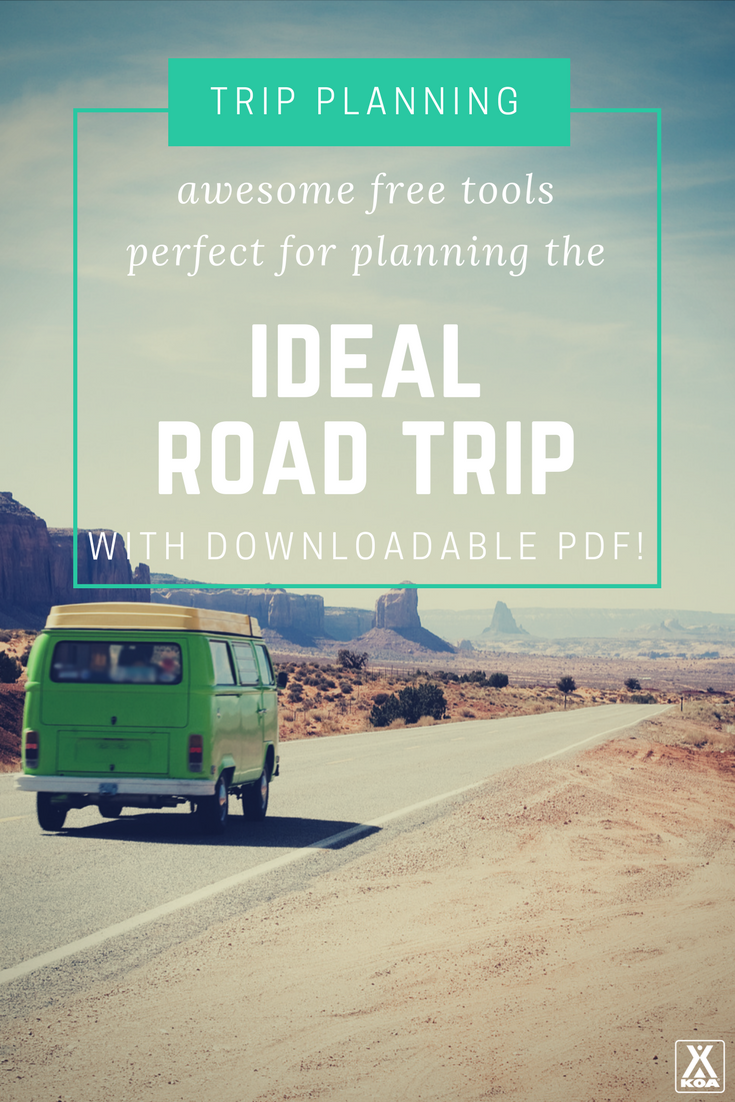 Plan the perfect road trip with these free tools!