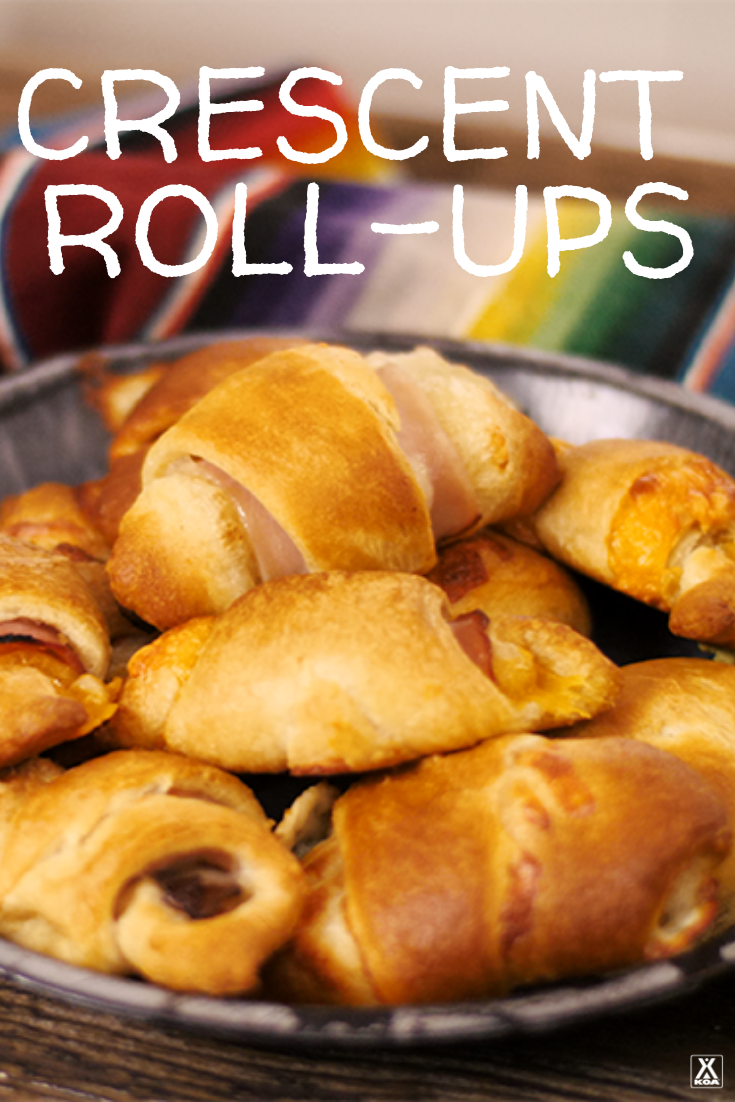 This easy recipe using pre-made crescent roll dough is delicious and easy. Make it your own! #recipe #easyrecipe #crescentrolls