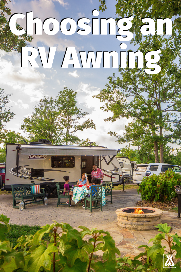 Choosing the right RV awning for your rig can be a challenge. Learn about the different types of RV awnings and choose the best one for you. #RV #RVing #RVlife