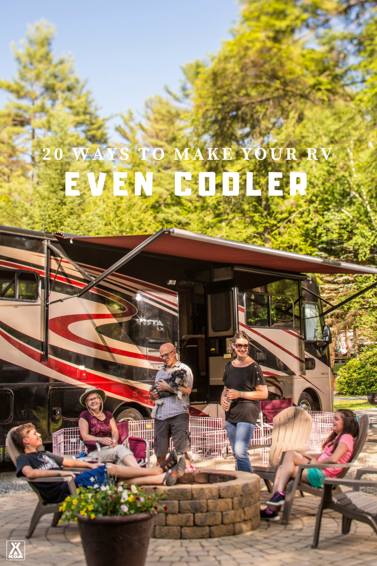 Do these things to make your RV even cooler!