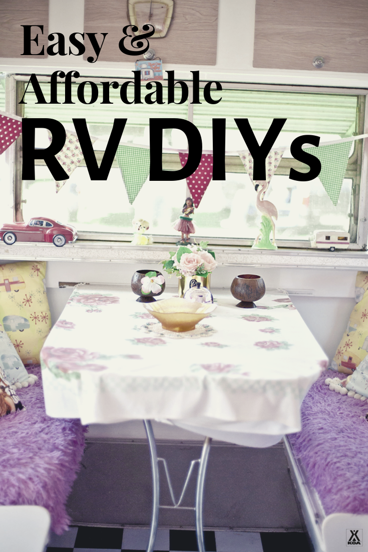 Renovate your RV with these DIYs