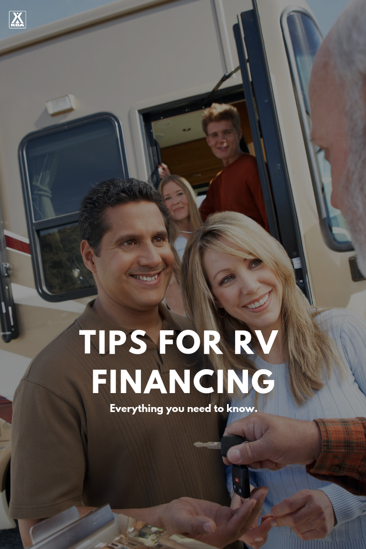 Learn about RV financing