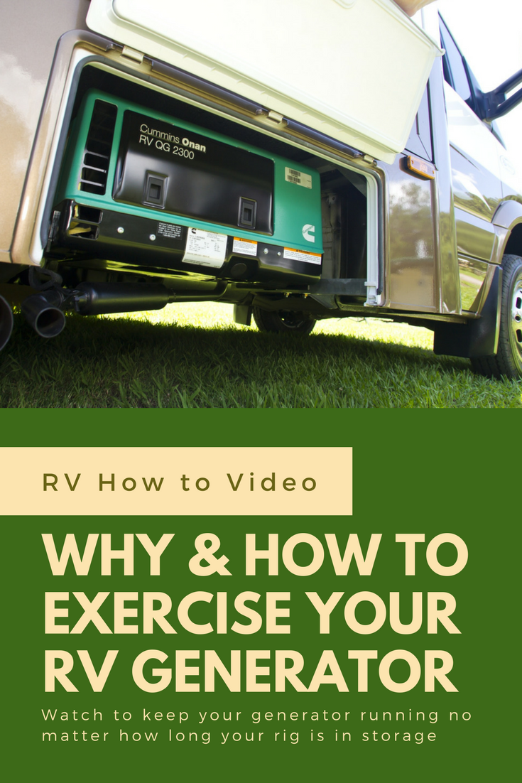 How To Exercise Your Rv Generator Koa Camping Blog