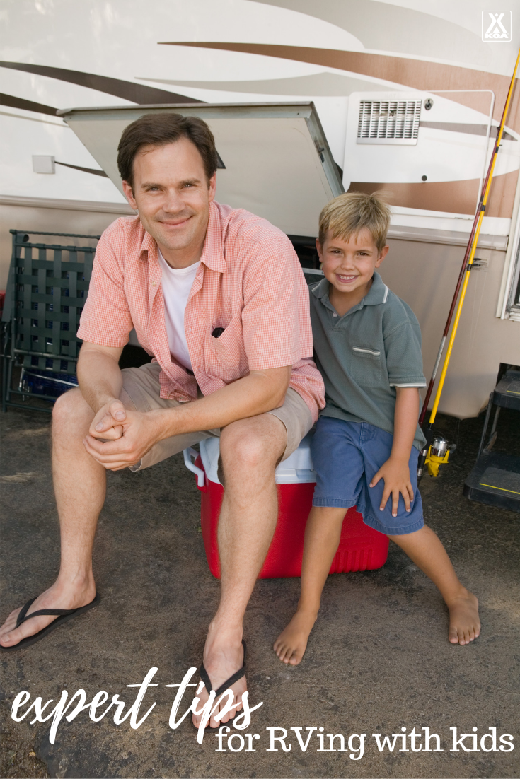 RVing with kids can mean a bit more prep. Luckily our tips are here to help! From maximizing safety to simply preserving your sanity, here are a few things that have worked well for other RVing parents and grandparents.