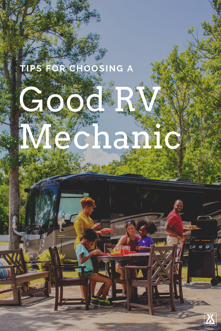 Six tips to help you choose a good mechanic to work on your RV, even if you're far from home. #RV #RVing #GoRVing