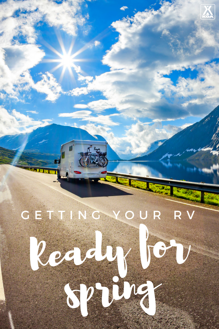 Do this to get your RV ready for spring